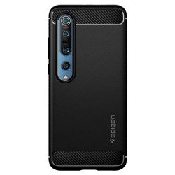 Spigen Rugged Armor for Mi 10 matt black