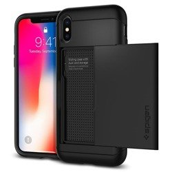 Spigen Slim Armor CS for iPhone XS black
