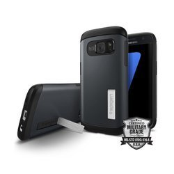 Spigen Slim Armor for Galaxy S7 metal slate