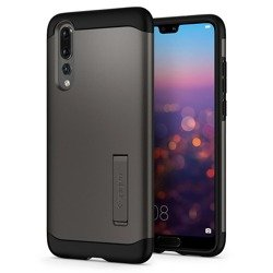 Spigen Slim Armor for P20 Pro gun metal