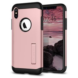 Spigen Slim Armor for iPhone XS rose gold col.