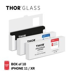 THOR CF APP SYS Box of 10 for iPhone 11 / XR clear
