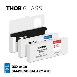 THOR E2E APP SYS Box of 10 for Galaxy A50 clear