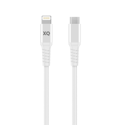 XQISIT Extra Strong Braided Lightning to USB C 3.0
