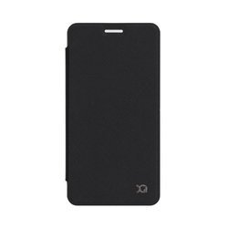 XQISIT Flap Cover Adour for Galaxy A3 (2016) black