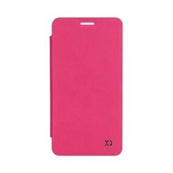 XQISIT Flap Cover Adour for Galaxy A3 (2016) pink