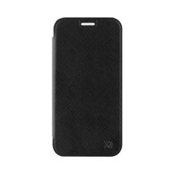 XQISIT Flap Cover Adour for Galaxy A3 (2017) black