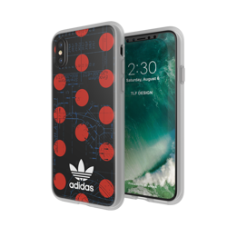 adidas OR Clear Case 70S FW17 for iPhone X/Xs