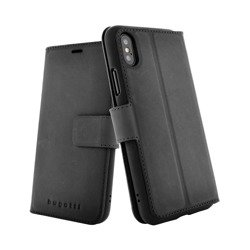 bugatti Zurigo BURNISHED for iPhone X/Xs black